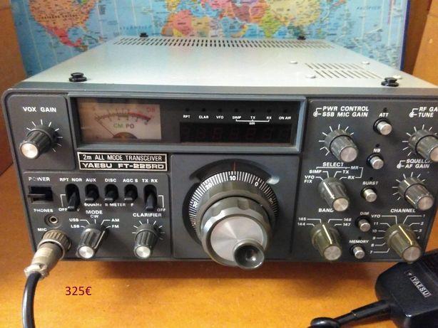 Yaesu FT-225RD - Kenwood - Alinco - Radioamador - Micro