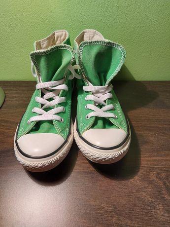 Trampki Converse zielone rozmiar 35