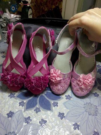 Туфли на девочку.300 грн.
