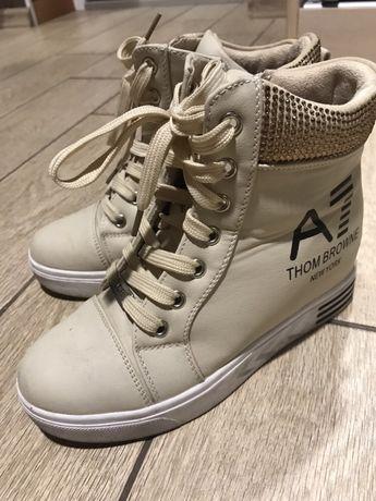 Демисезонные ботинки сникерсы 36