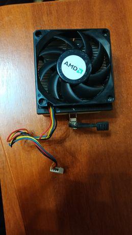 Кулер боксовый стандартный 4 pin для AMD am2 am2+ am3 am3+ FM1 FM2