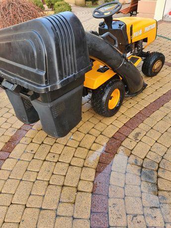 Traktorek partner P115B z koszem