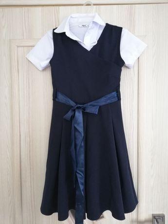 Sukienka dziewczęca rozmiar 134