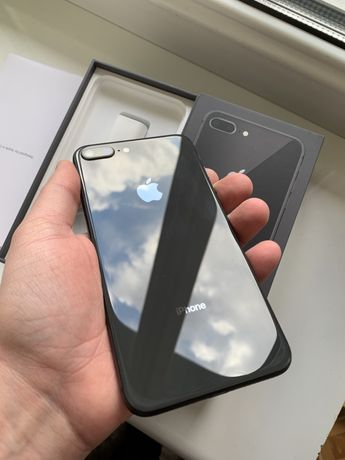 iphone 8 plus 256GB Space Gray / Neverlock