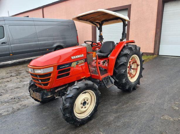 Traktor Yanmar AF 350 4x4 35km, rewers, szybka skrzynia, Idealny Stan