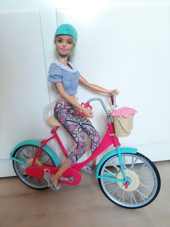 Rower barbie sprawny kask