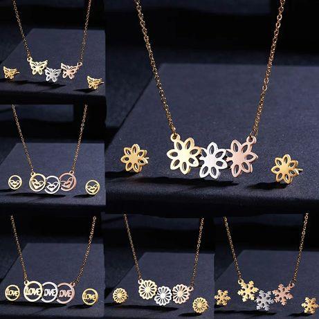Wyjątkowo Piękne Zestawy Biżuterii