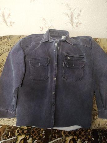 Мужская рубашка, плотная