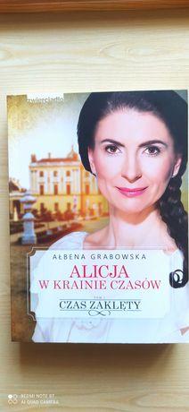 """""""Alicja w krainie czasów"""" Ałbena Grabowska"""