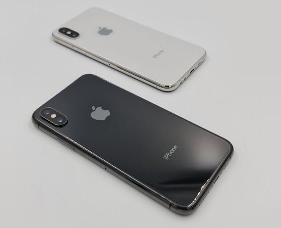 Zestaw premium APPLE IPHONE X 64GB różne kolory (czarny biały)