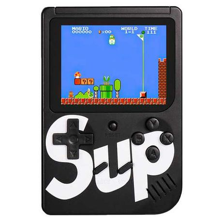 Портативная приставка Sup Game Box 400 games, black