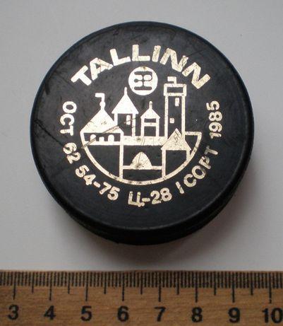 Шайбы хоккейные Известия, Таллин, СССР, 2 шт.