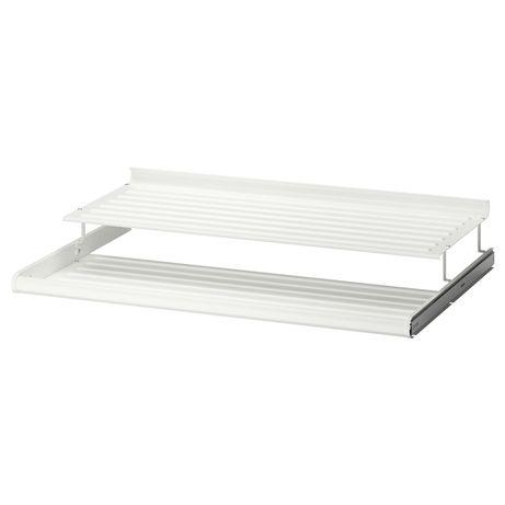 IKEA PAX KOMPLEMENT Wysuwana półka na buty biała NOWA