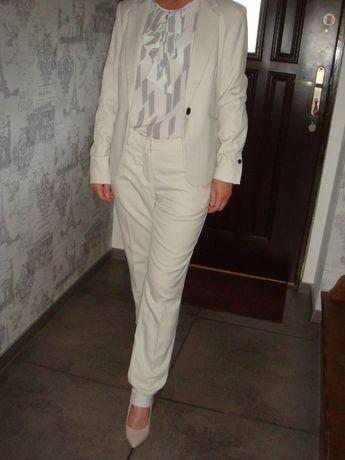 H&M, Nowy garnitur, spodnie/ rozm. 34, marynarka/ rozm. 36