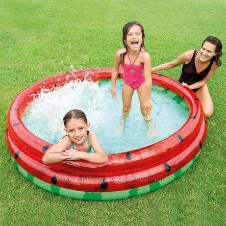 Надувний дитячий басейн 168*38см, Надувной детский бассейн 168 * 38см
