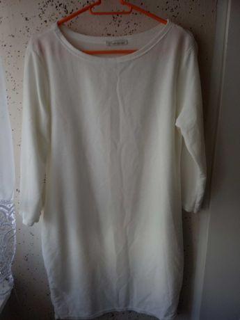 Biała sukienko/tunika