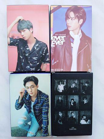 Фотокартки K-POP - EXO, BTS, GOT 7