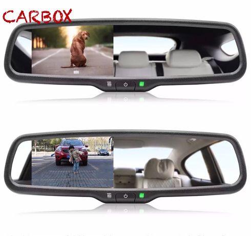 Зеркало автомобильное заднего вида салонное с экраном, монитором