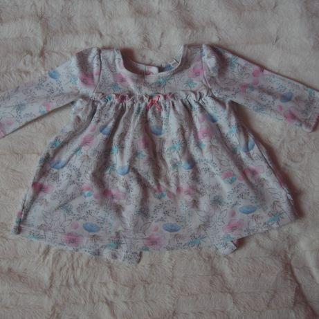 Bluzeczka w kwiatowy wzór rozm. 62 BHS