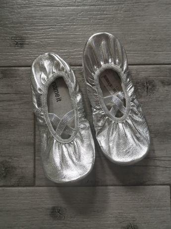 Name it Baletki buty balerinki na balet srebrne r. 30/31