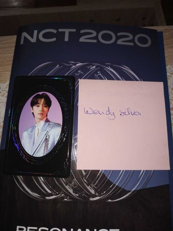 KPOP NCT 2020 SUNGCHAN yearbook photocard