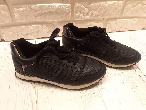 Adidasy czarne, buty sportowe r.39