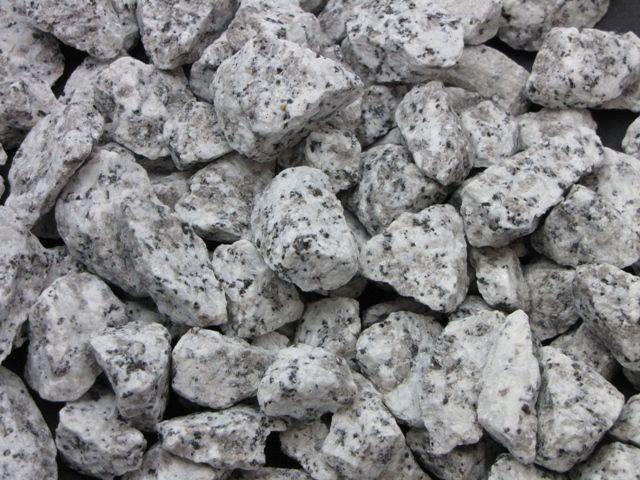 Grys granitowy szary dalmatyńczyk 16-22 | kamienie ogrodowe ozdobne Sosnowiec - image 1