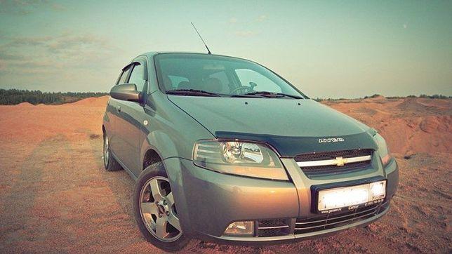 Дефлектор капота Шевроле Авео T200 Chevrolet Aveo T200