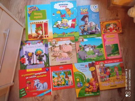 książki dla dzieci - Nowe i używane,Kubuś Puchatek, Kopciuszek, bracia