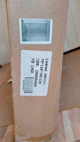 Cabide de duche Nova 70x120x185 cm