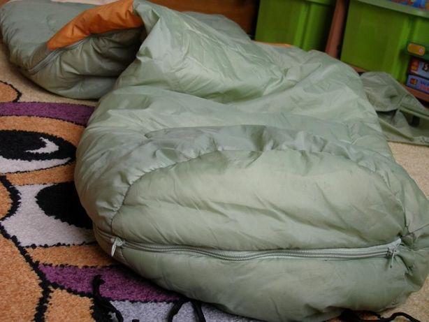 Śpiwór profesjonalny niemiecki FUN CAMP. Wysoka jakość bawełna PREZENT
