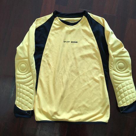 Camisola amarela Bodyboard criança 6 anos. Sport Zone