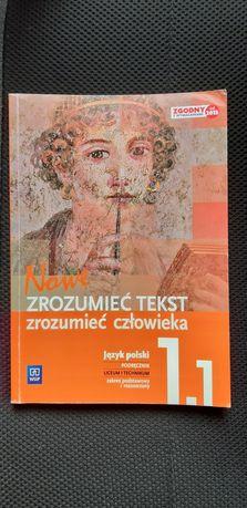 Zrozumieć tekst zrozumieć człowieka 1.1 język polski podręcznik