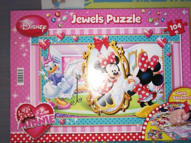 Puzzle Myszka Minie 104 elementy