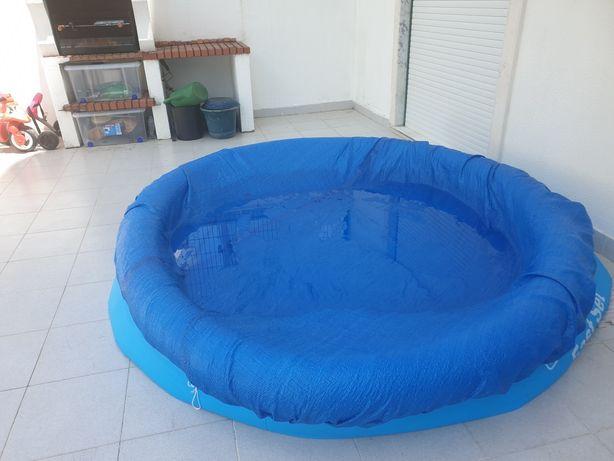 piscina bestway fast set 2.44m x 66cm