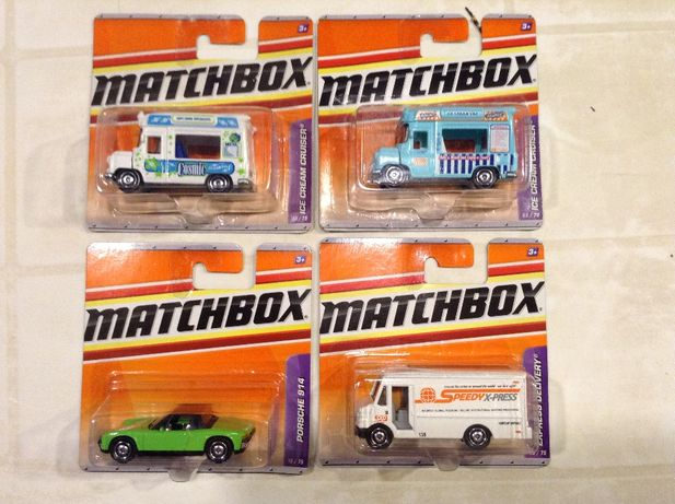 MATCHBOX Porsche 914 - carrinhas gelados - Express Delivery - cada 10€