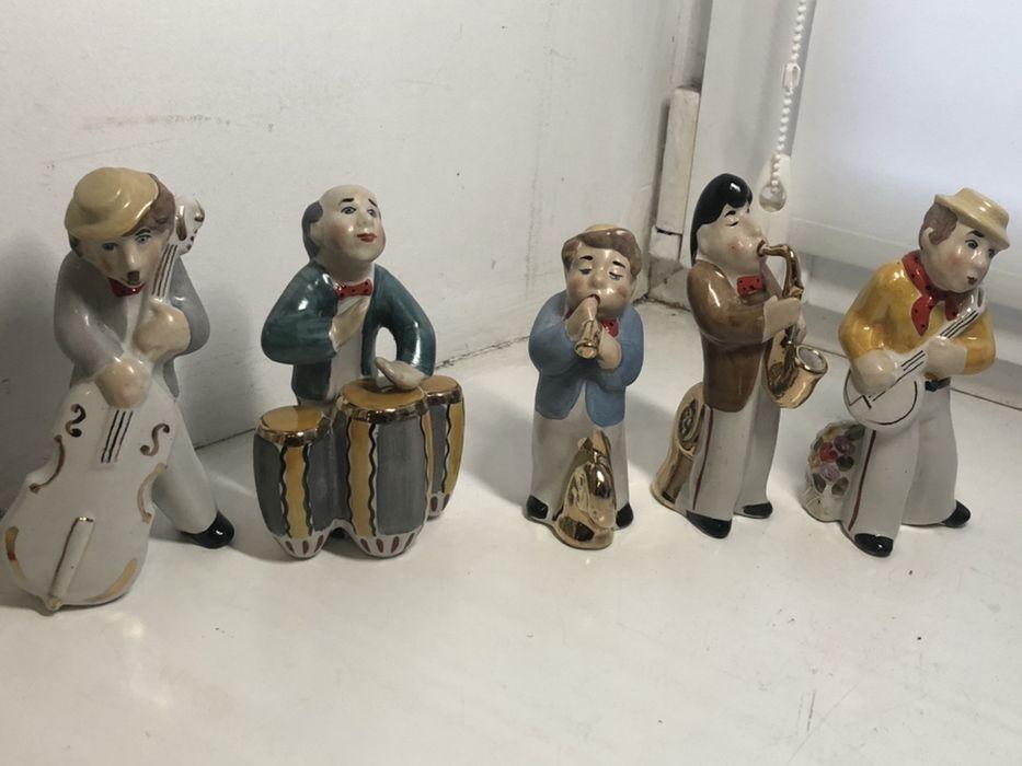 Еврейский оркестр, музыканты статуэтки Борщи - изображение 1