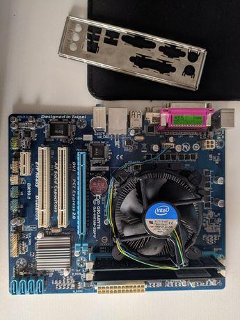 Gigabyte GA-H61M-S2PV (Rev 2.1) + 12 GB ram DDR3 + i5 3470