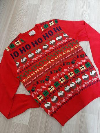Sweter świąteczny męski XS jak nowy