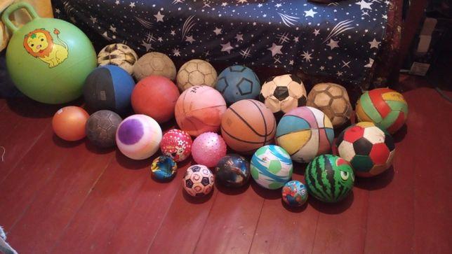 Мячи футбольные, баскетбольные и т.д.