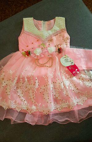 Платье, пышное, нарядное, фотосессия, от 6 мес. до 1 год