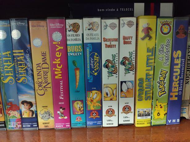 Filmes Disney Warner Bros VHS Pokémon Harry Potter Tarzan Mickey Har