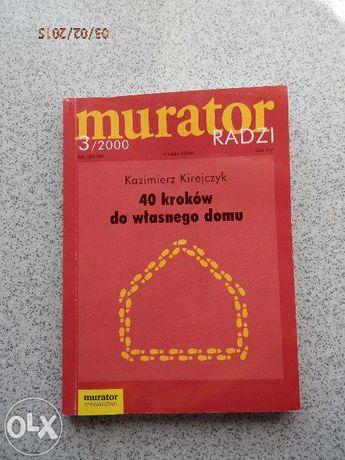 Książka Murator radzi 40 kroków do własnego domu