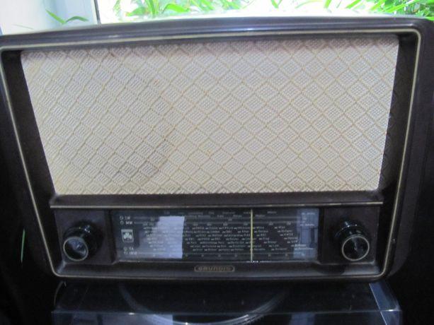 Radio GRUNDIG 165W 165 W stare, lata 60te Kolekcjonerskie