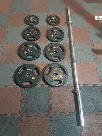 Sztanga Olimpijska 120kg Zawodnicza Hes obciazenie olimpijskie Hes