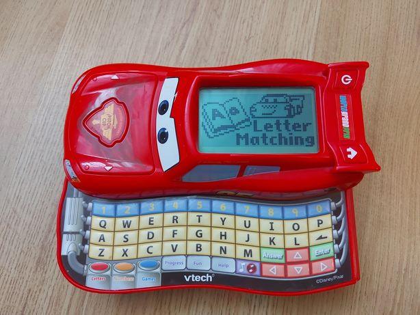 Машинка Молния Маквин обучающая с азбукой, с led дисплеем