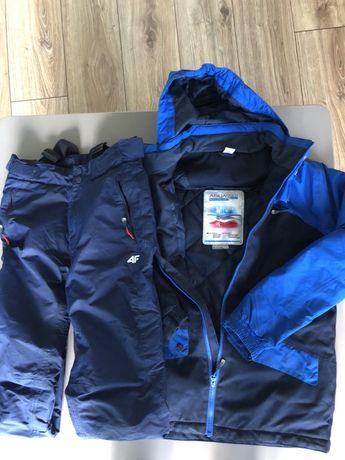 Kurtka i spodnie snowbordowe 4F