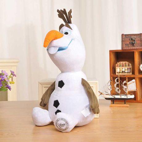 Снеговик Олаф мягкая плюшевая игрушка из мультика Холодное сердце