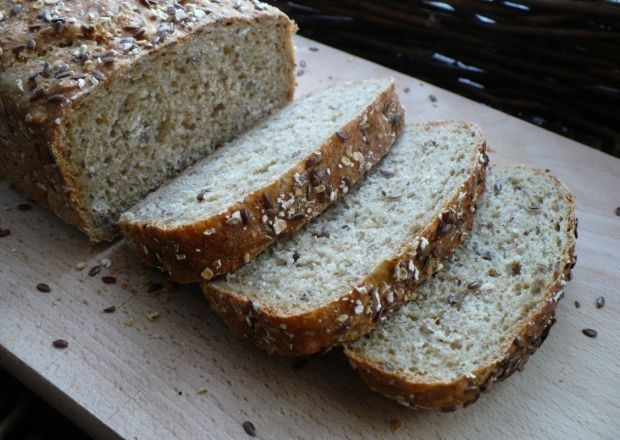 Chleb swojski na prawdziwym zakwasie bez polepszaczy, smalec z dowozem