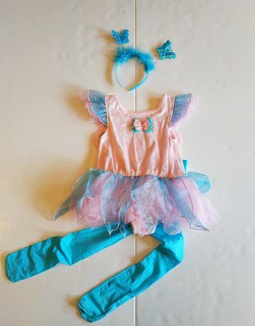 Фирменный костюм бабочки, феи 2-4 года